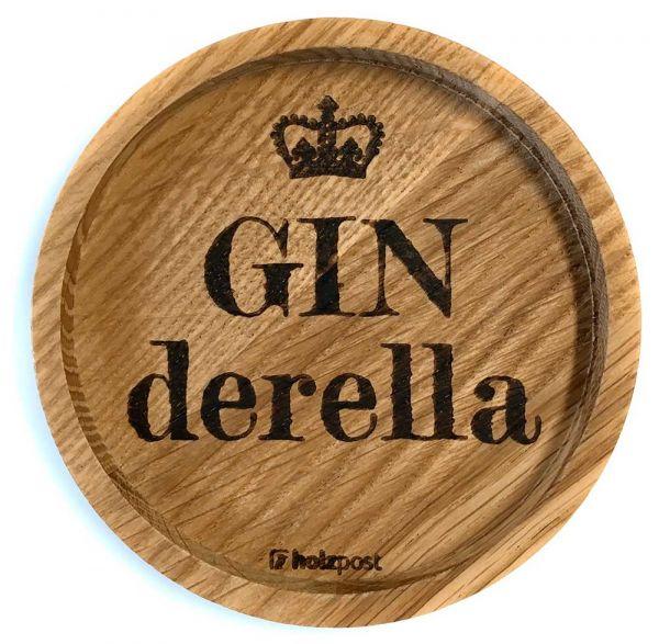 Holz Untersetzer Ginderella