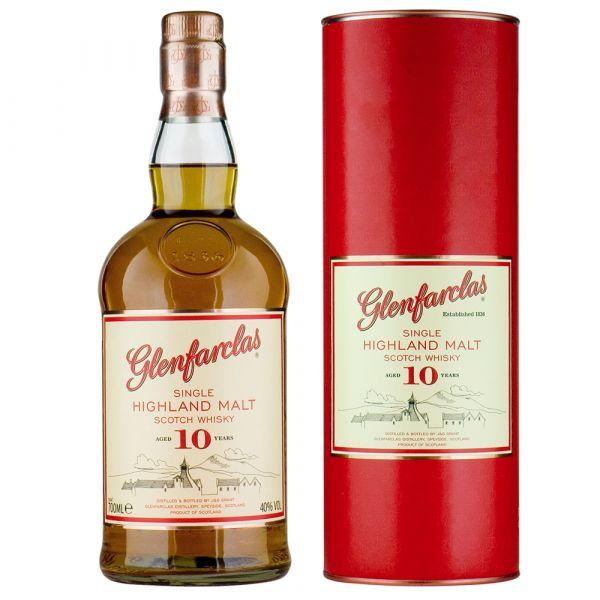 Glenfarclas Highland Single Malt Scotch Whiskey 10 Jahre
