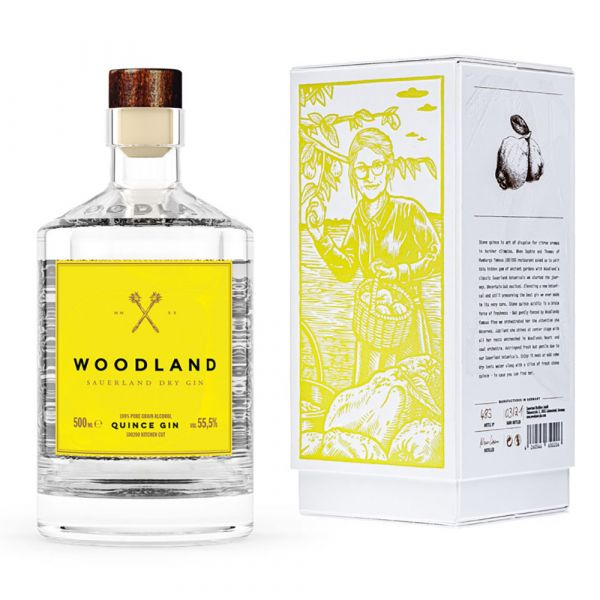 Woodland Sauerland Dry Quince Gin