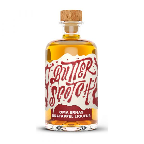 Oma Ernas Bratapfel Liqueur Butterscotch