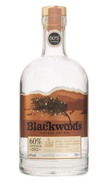 Blackwood Vintage Gin 60% - 2012
