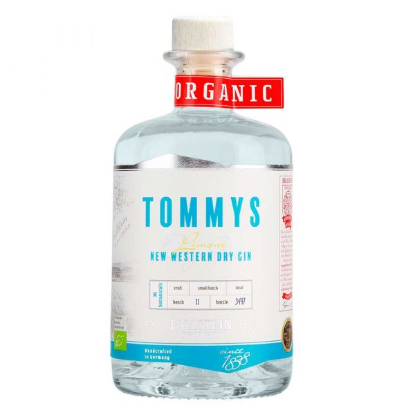 Tommys Limone New Western Dry Gin
