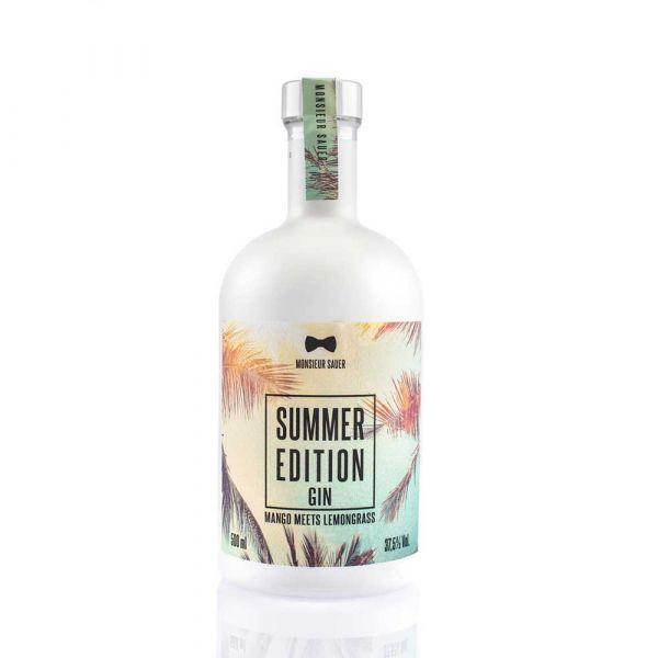 Monsieur Sauer Summer Edition
