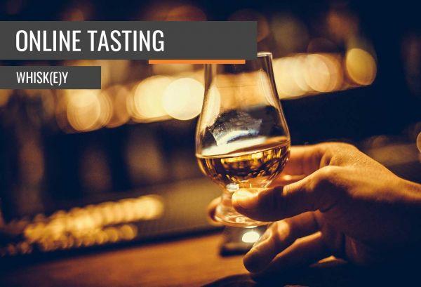 Online Whiskey Tasting Basic