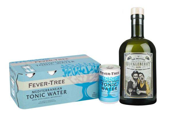 Huckleberry Gin & Mediterranean Tonic Set