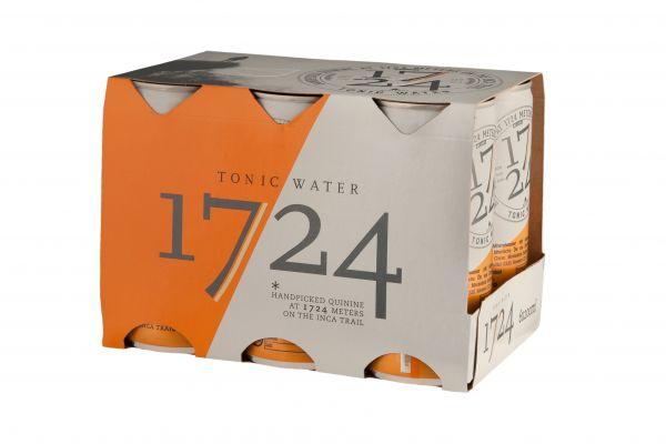 1724 Tonic Water 6er Tray