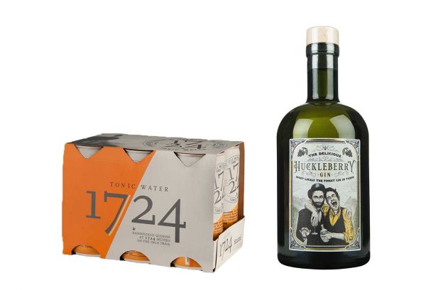 Huckleberry Gin & 1724 Tonic Set
