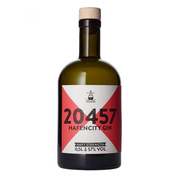20457 Hafencity Navy Strength Gin