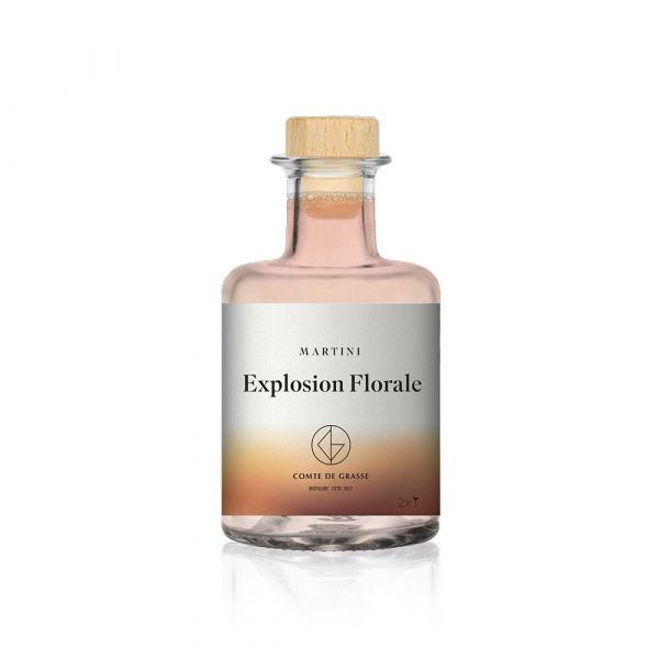 """My Cocktails by Comte de Grasse Martini """"Explosion Florale"""""""