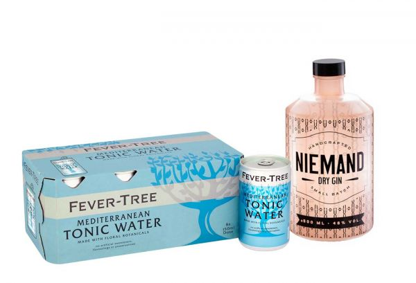 Niemand Gin & Fever Tree Mediterranean Tonic Set