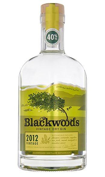 Blackwood Vintage Gin 40% - 2012