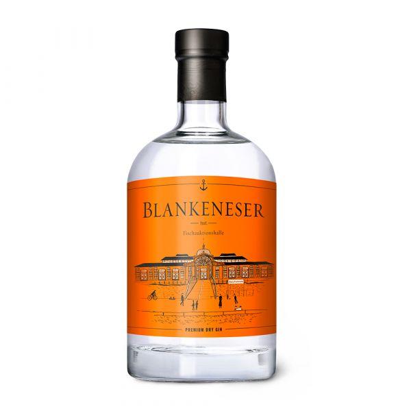 Blankeneser Premium Dry Gin Fischauktionshalle