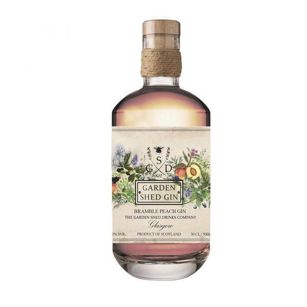 Garden Shed Bramble Peach Gin
