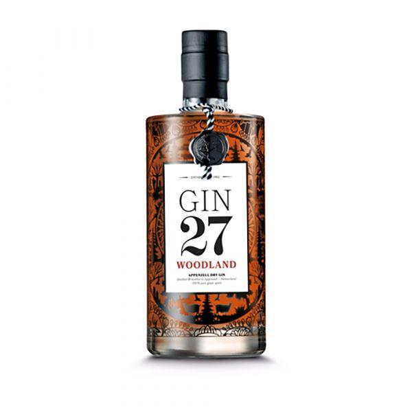Gin 27 Woodland Appenzeller Dry Gin