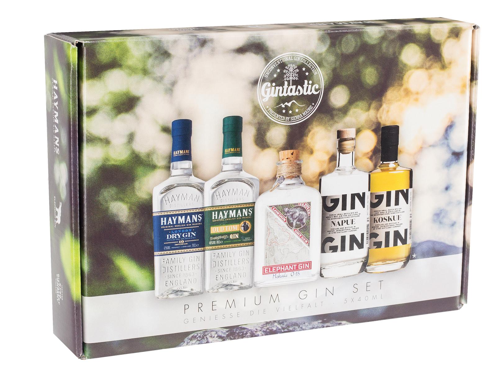 Gin Tonic Kombinationen