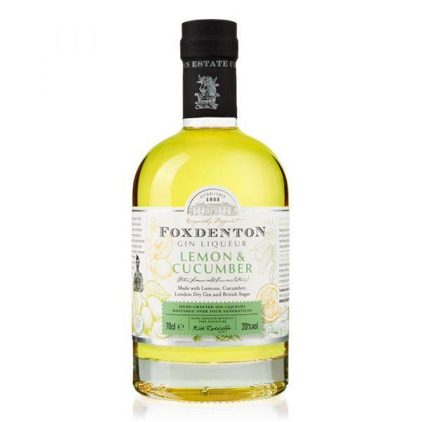 Foxdenton Lemon & Cucumber Gin Liqueur