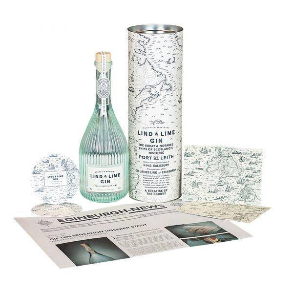 Lind & Lime Gin & Geschenkverpackung