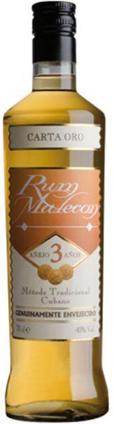 Malecon Rum 3 Jahre