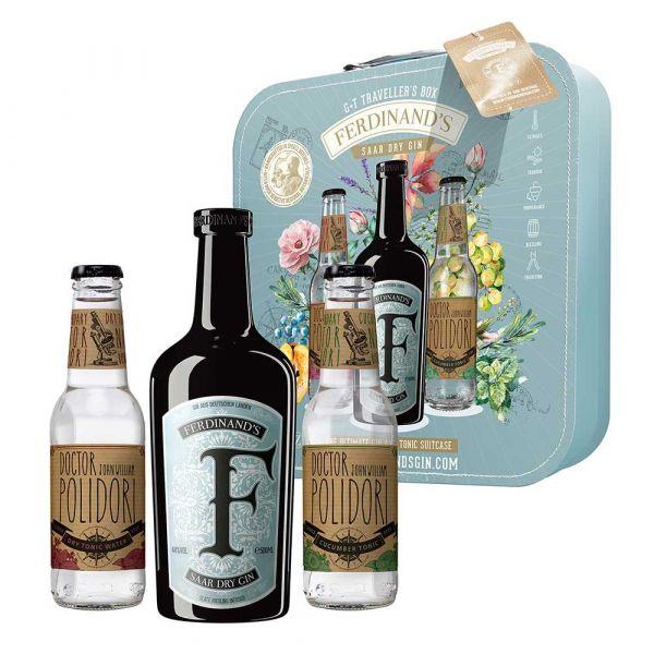 Ferdinand Saar Gin G&T Traveller's Box