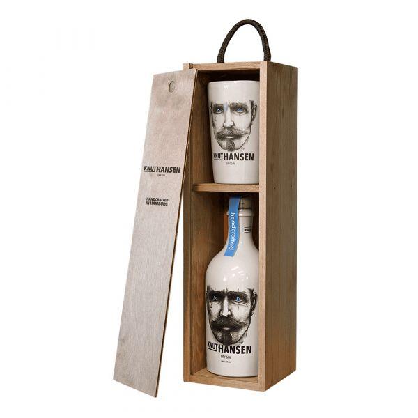 Knut Hansen Dry Gin & Becher Set