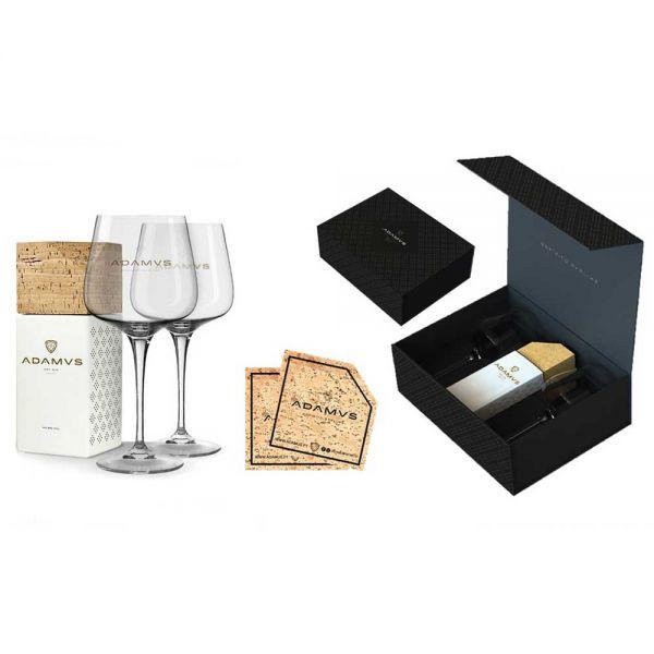 Adamus Dry Gin & Gläser Set