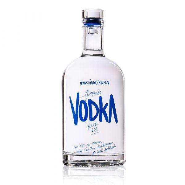 #Anständigtrinken Vodka