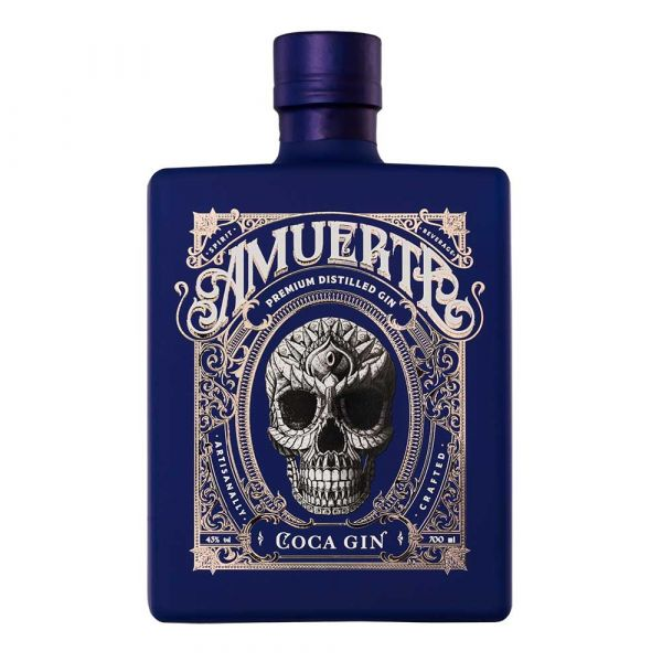 Amuerte Coca Leaf Gin Blue Edition