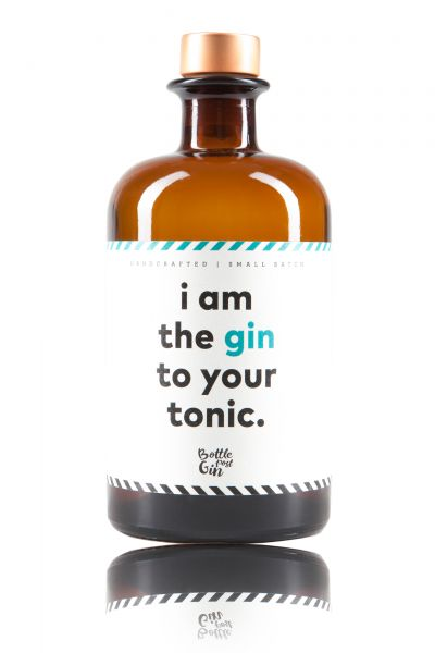 """Bottle Post Gin Edition """"i am the gin to your tonic"""""""