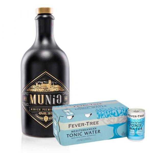 Munig Gin & Fever Tree Mediteranean Set