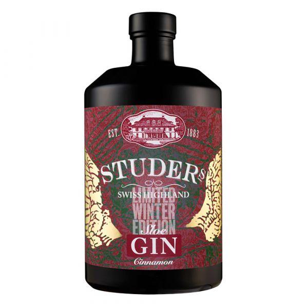 Studer Swiss Highland Sloe Gin Cinnamon Master Distiller Cut