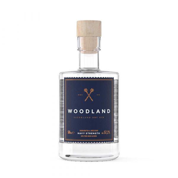 Woodland Sauerland Dry Gin Navy Strength 0,05l