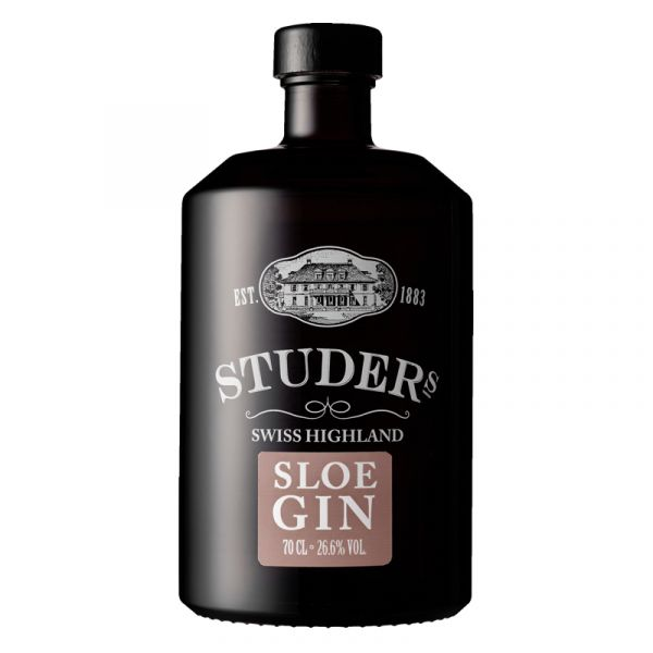 Studer Swiss Highland Sloe Gin Likör