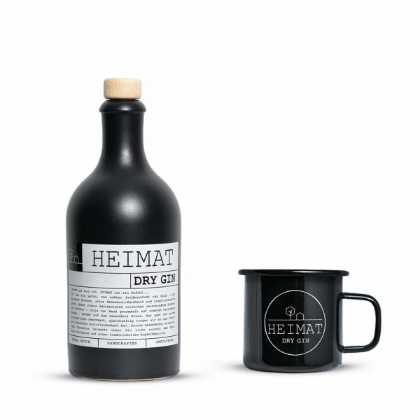Heimat Gin & Becher Set