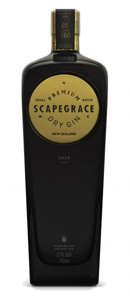 Scapegrace Dry Gin Gold Edition