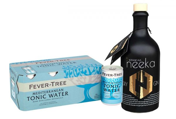 neeka Gin & Fever Tree Mediterranean Tonic Set