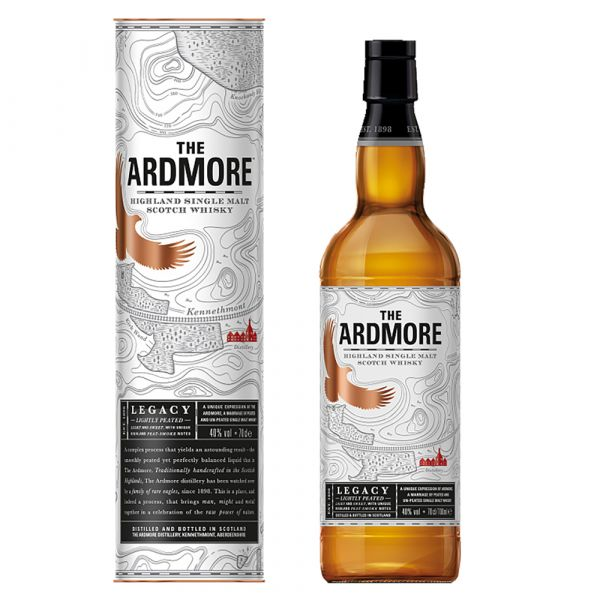 Ardmore Legacy Lightly Peated Whisky
