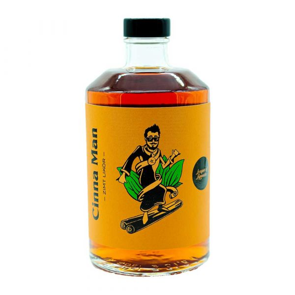League of Liqueurs Cinna Man - Zimt Likör
