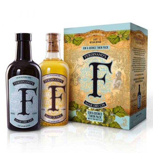 Ferdinand's Gin & Quince Twin Pack