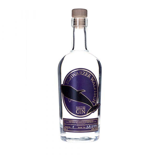Schwarzer Walfisch Gin